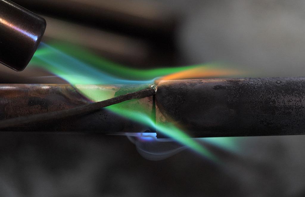 Using Butane Cartridge Torch to do hot fixing