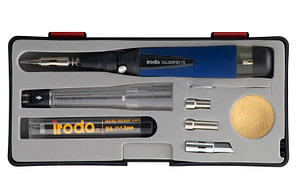 Professional Compact Butane Soldering Iron Kit SOLDERPRO 70K from Pro-Iroda
