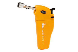 MJ-352 Micro jet precision handheld butane lighter with extended nozzle from Pro-Iroda