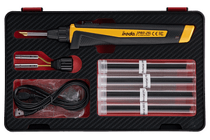 PRO-25LP USB Rechargeable Plastic Welding Iron Kit from Pro-Iroda